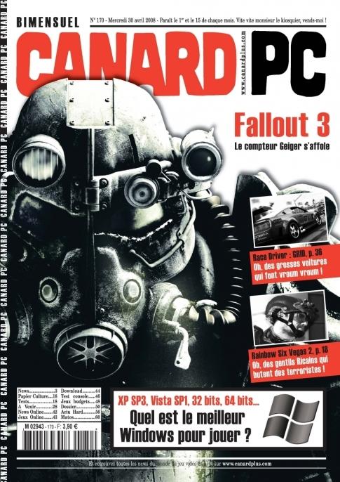 Canard magazine cover