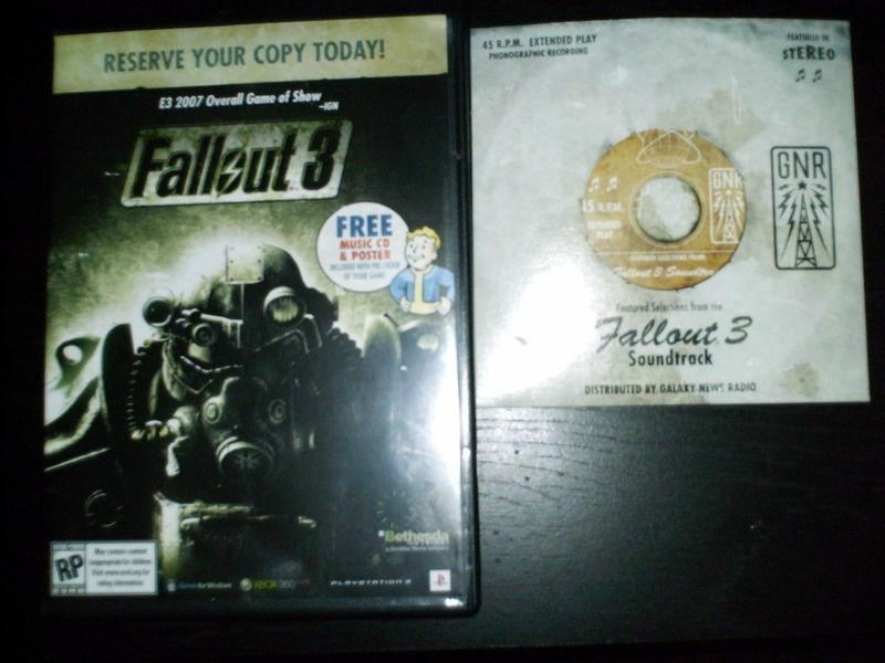 Fallout 3 pre-order edition