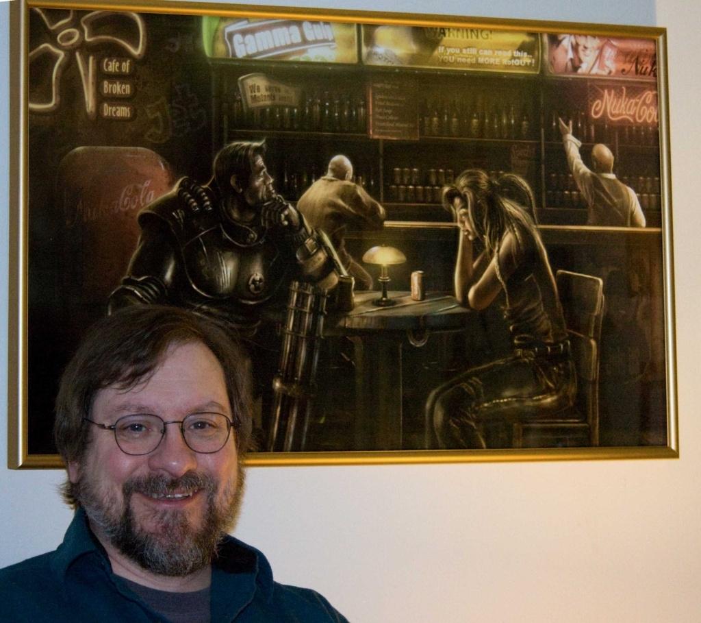 Cafe of Broken Dreams - framed print