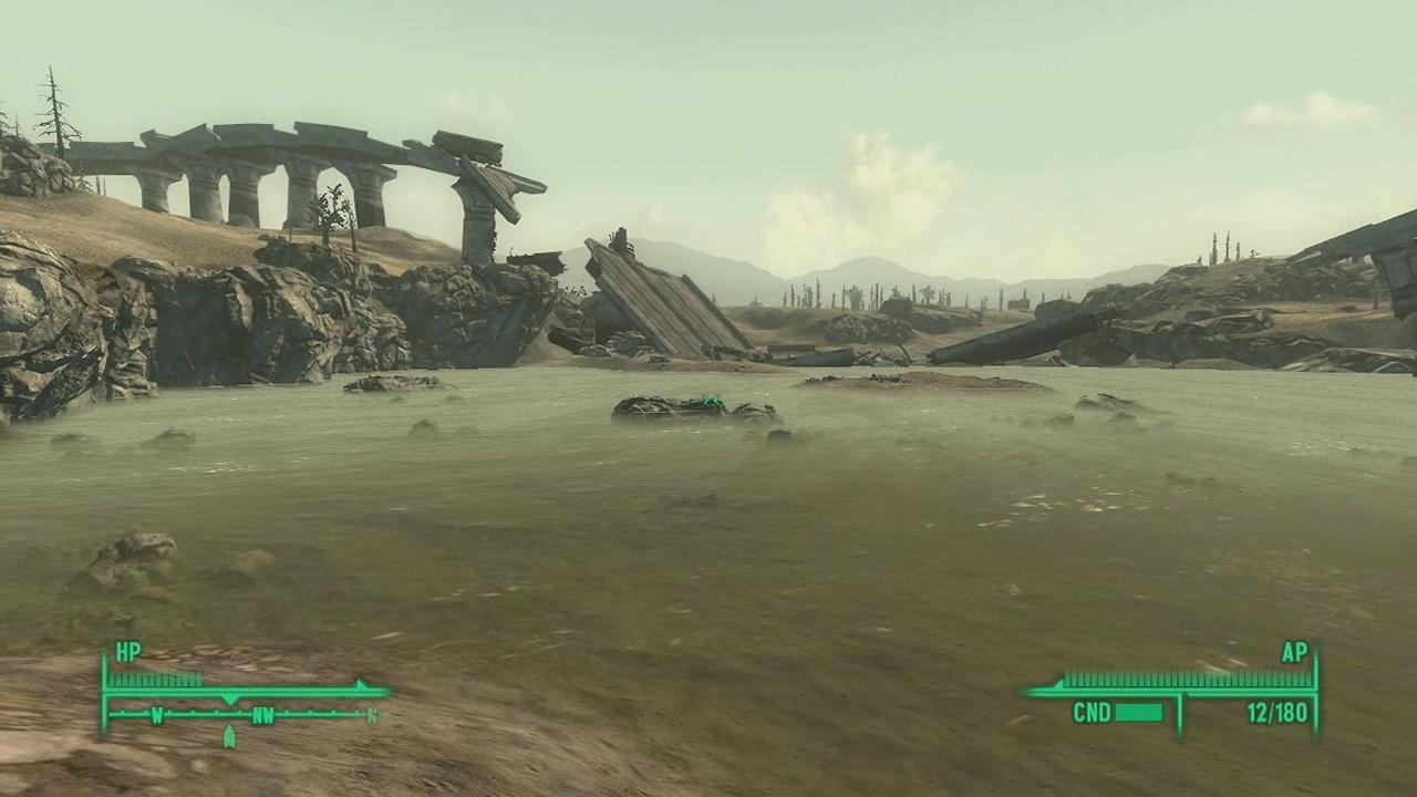 Wasteland Landscape