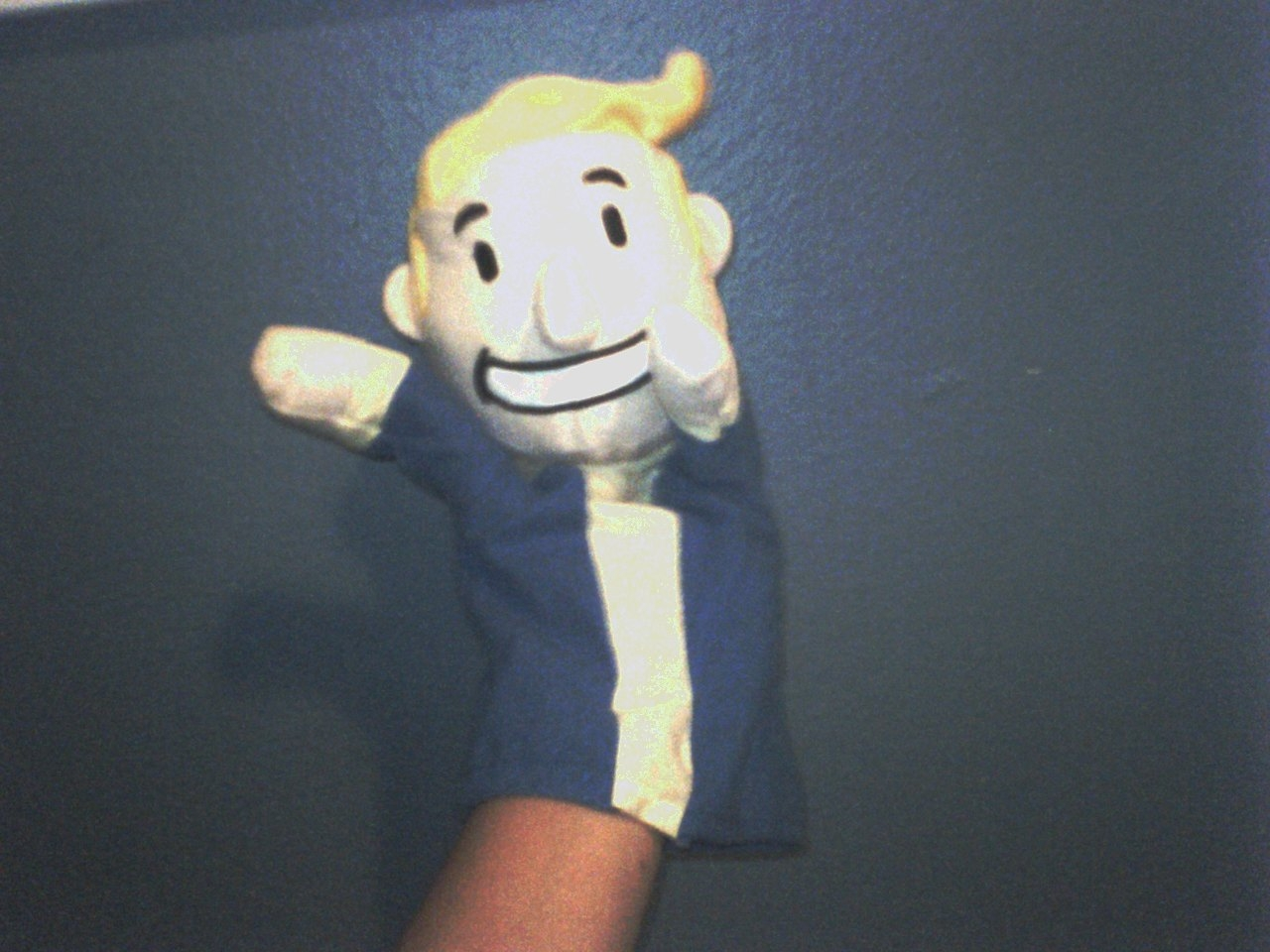 PAX promotional puppet