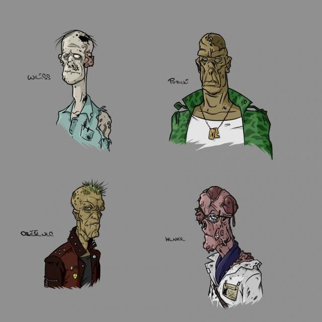 Four treacherous ghouls – beware!