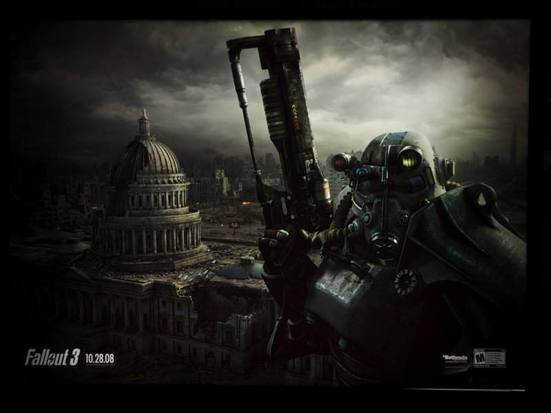 Fallout 3 metro ad