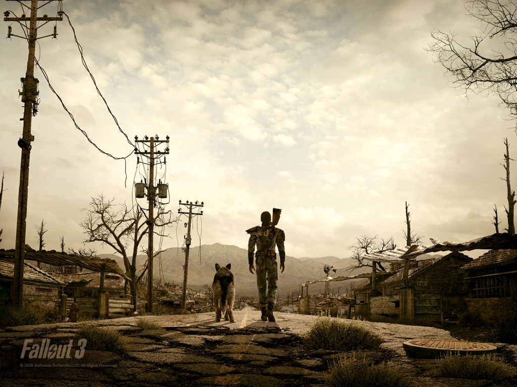 Fallout 3 Dogmeat and You wallpaper