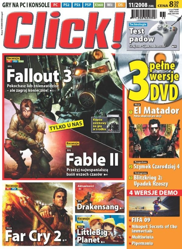 Click Fallout 3 review cover