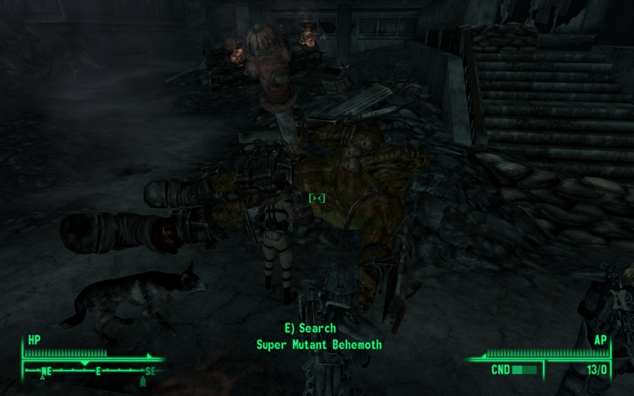 Behemoth resting
