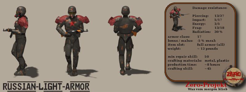Zero Projekt Russian Armor