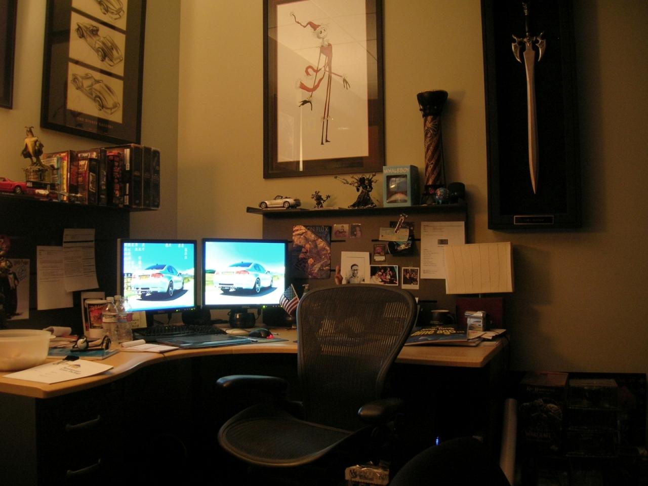 Gary Platner's Desk