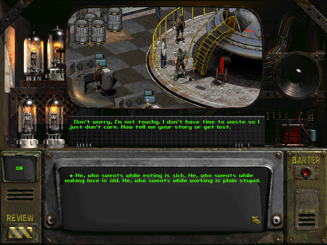 Obviously a dialog screen.