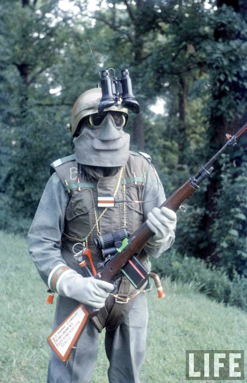 U.S Army Soldier of the Future - 1959