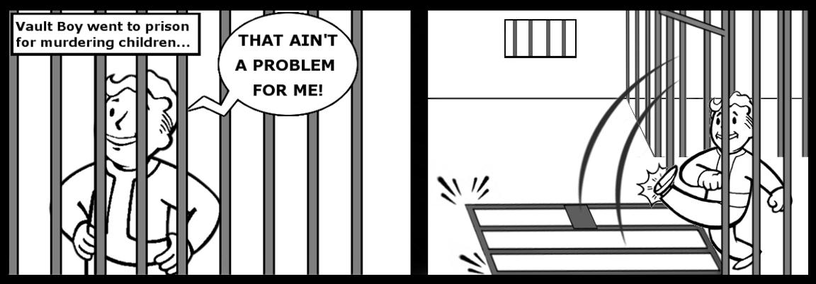 prison kick