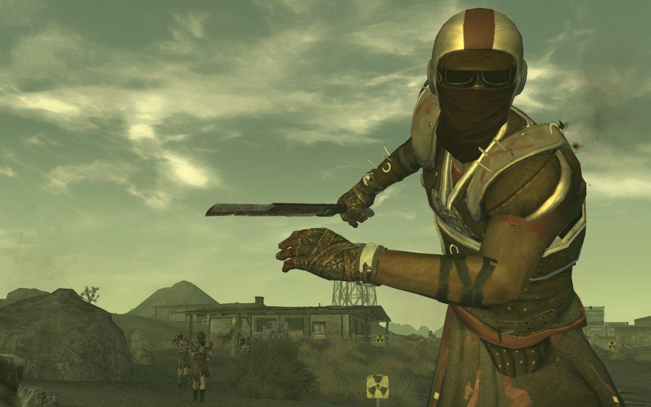 Legionnaire with machete