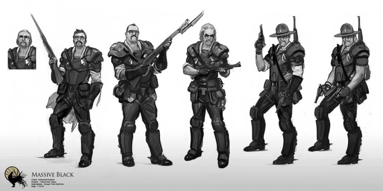 NCR Rangers by Wes Burt