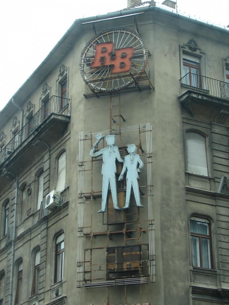 Budapest Neon Sign