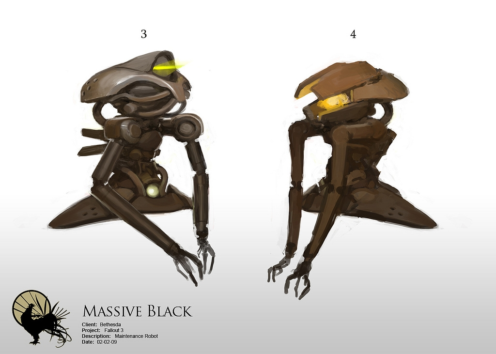 Massive Black concept art
