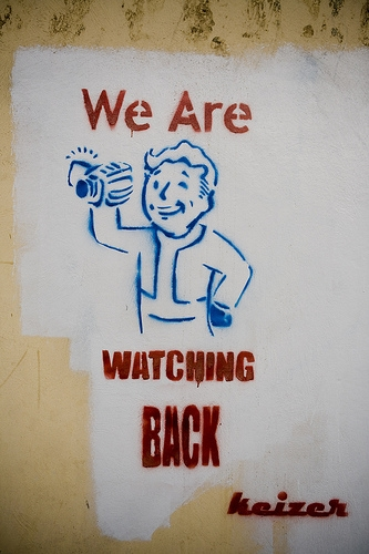 Vault Boy - political graffiti