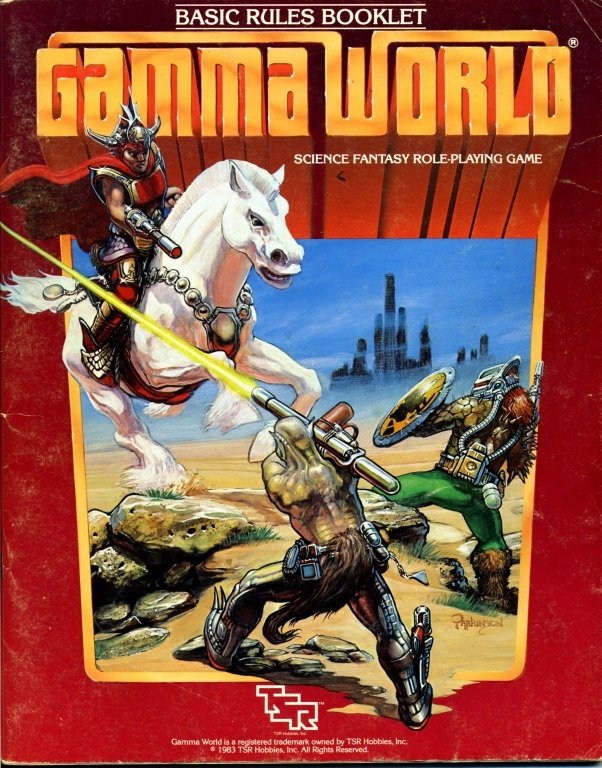 Gamma World cover