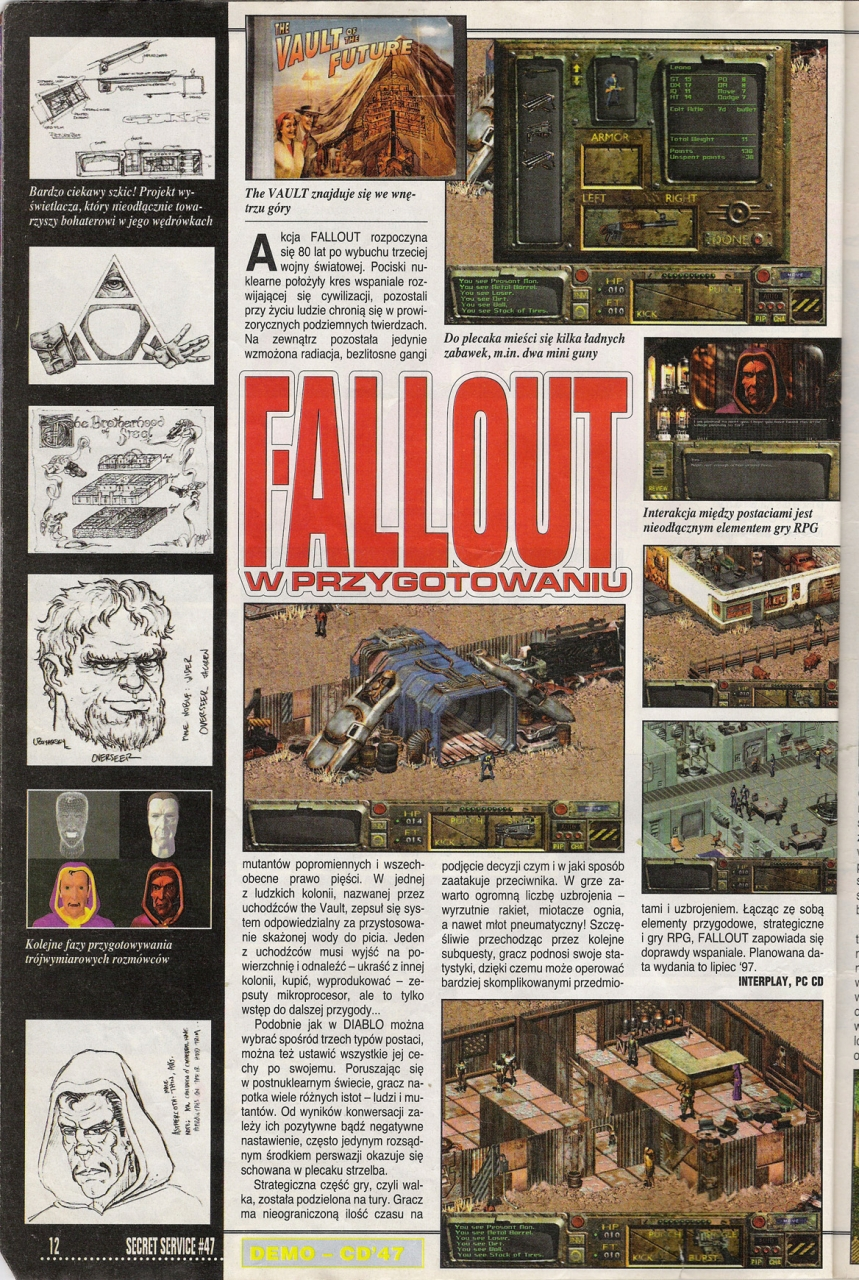 Secret Service Fallout preview (1997)
