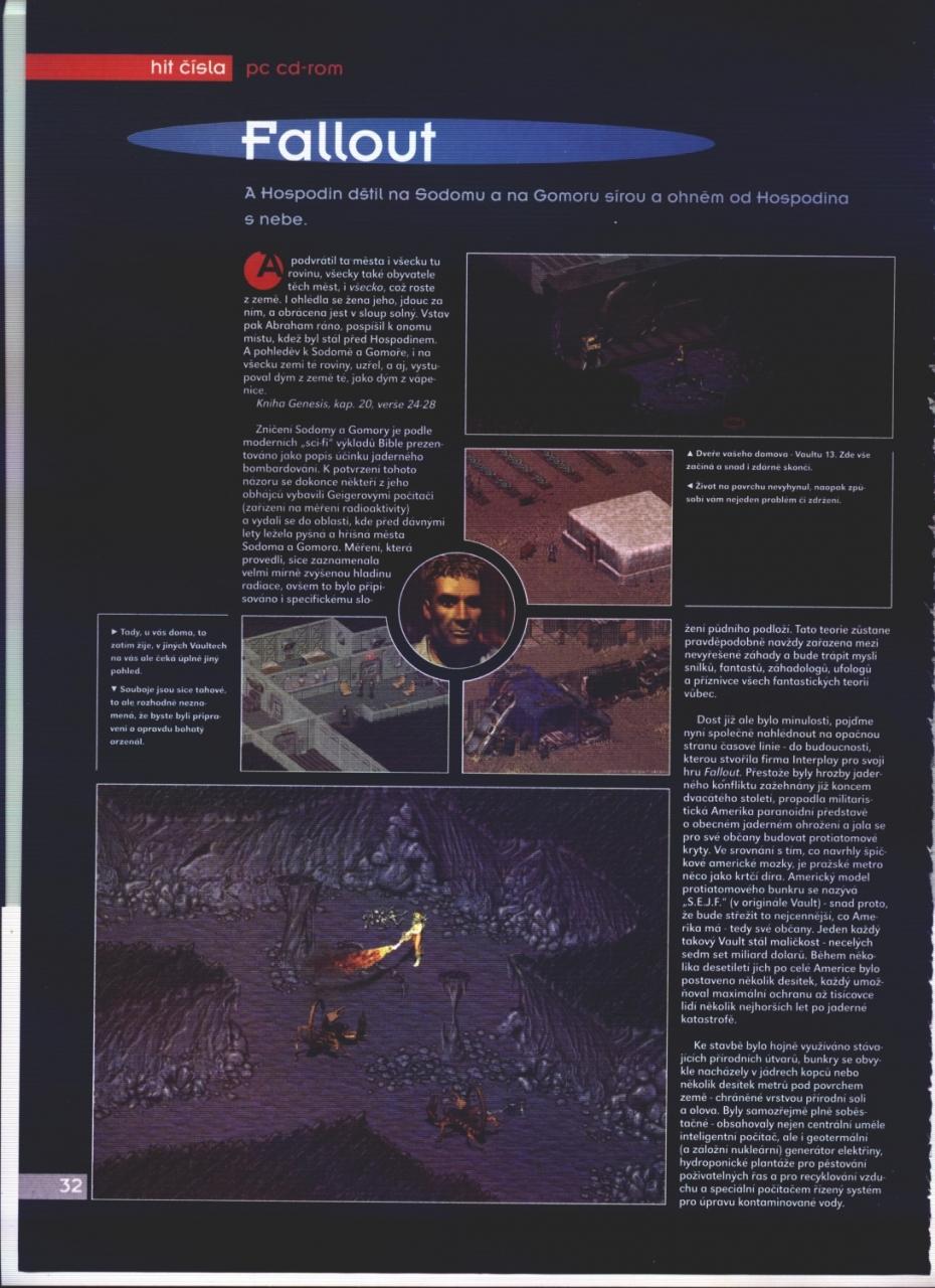 Score Fallout review (1998) CZ