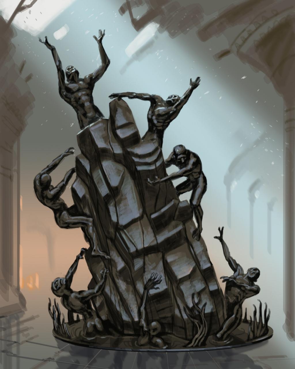Underworld Statue
