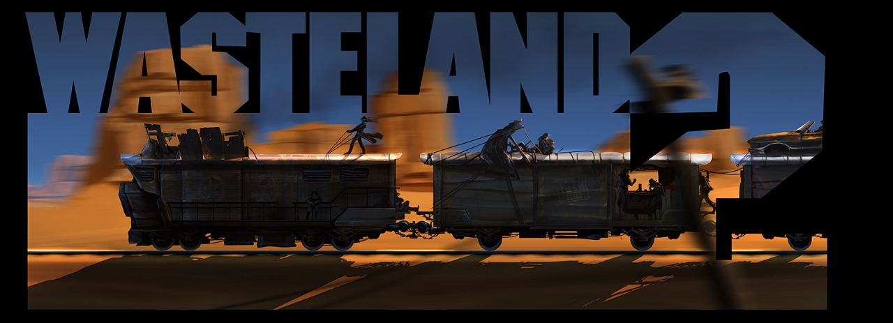 Wasteland 2 - Rangers Train Facebook Cover