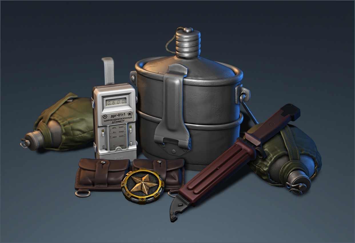 Equipment render