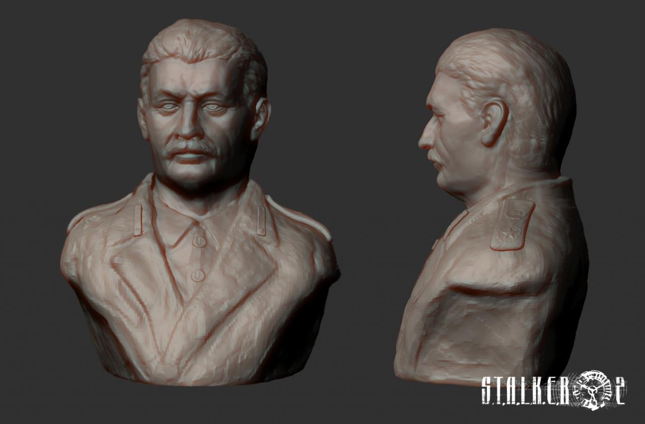 Stalin render