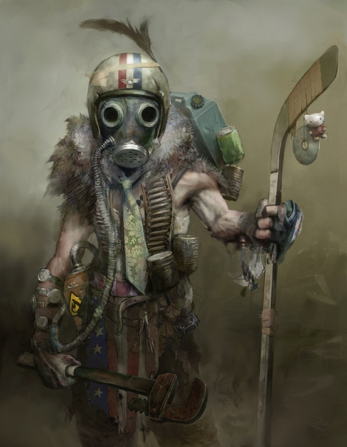 Wasteland raider, resident of LA