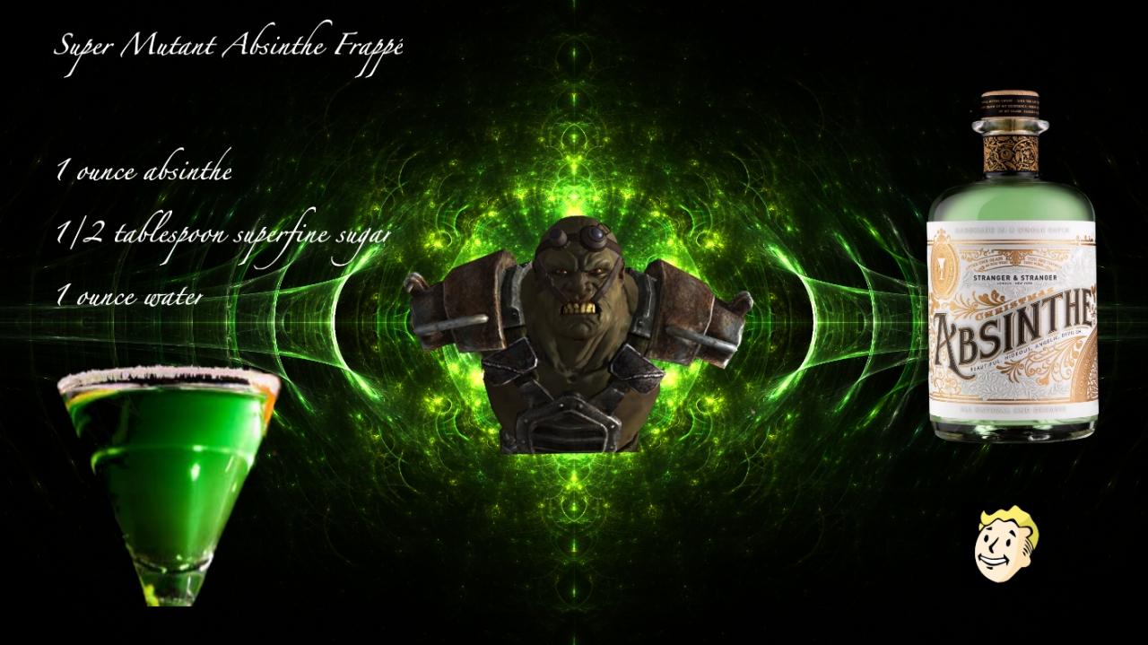 Super Mutant Absinthe Frappe