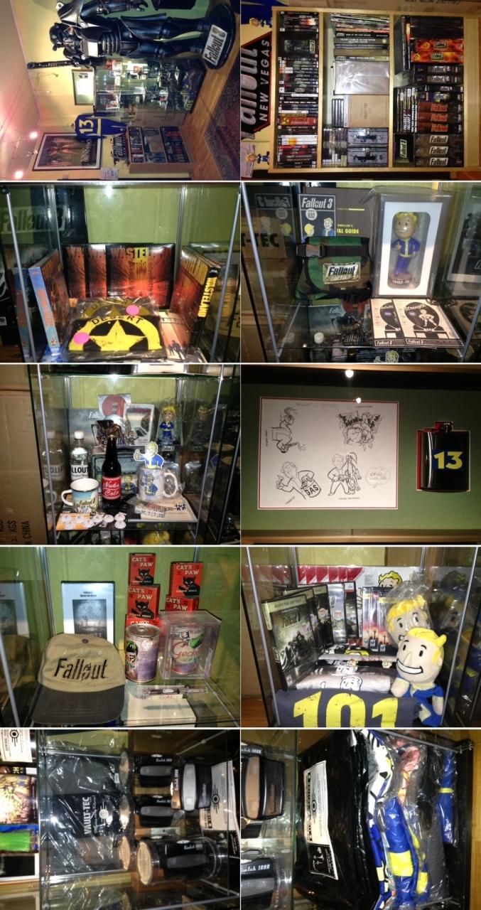 Erik Tidemann's Fallout collection