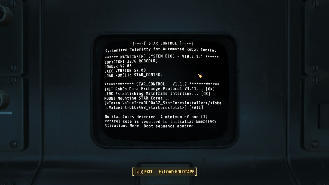 Bug in terminal