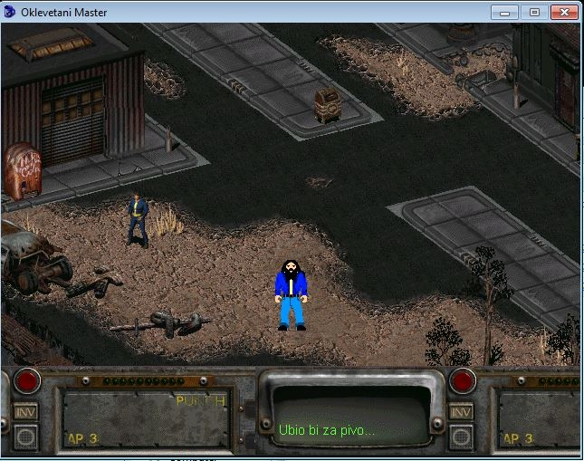 Slika 2 iz igre Oklevetani Master