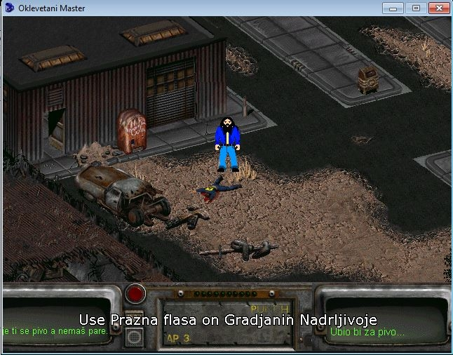 Slika 3 iz igre Oklevetani Master